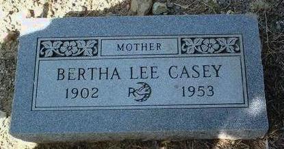 AUSTIN CASEY, BERTH LEE - Yavapai County, Arizona | BERTH LEE AUSTIN CASEY - Arizona Gravestone Photos