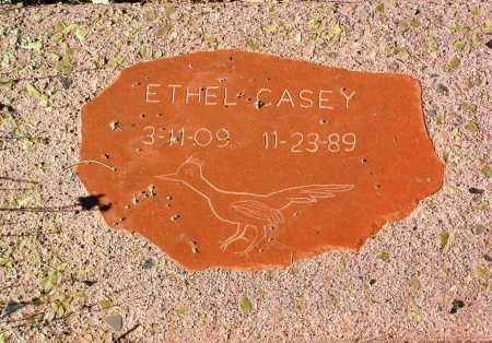 CASEY, ETHEL - Yavapai County, Arizona   ETHEL CASEY - Arizona Gravestone Photos