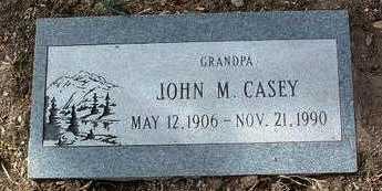 CASEY, JOHN M. - Yavapai County, Arizona | JOHN M. CASEY - Arizona Gravestone Photos