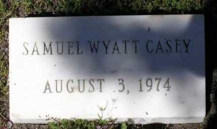 CASEY, SAMUEL WYATT - Yavapai County, Arizona | SAMUEL WYATT CASEY - Arizona Gravestone Photos