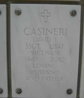 CASINERI, DAVID T - Yavapai County, Arizona | DAVID T CASINERI - Arizona Gravestone Photos