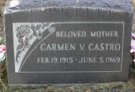 CASTRO, CARMEN V. - Yavapai County, Arizona   CARMEN V. CASTRO - Arizona Gravestone Photos