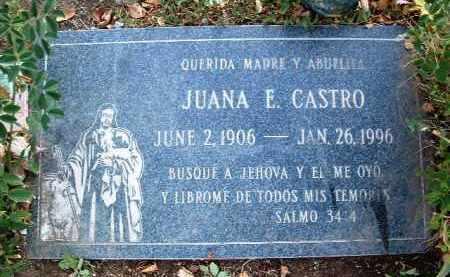 CASTRO, JUANA E. - Yavapai County, Arizona   JUANA E. CASTRO - Arizona Gravestone Photos