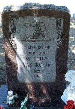 CASTRO, LOUIS D., JR. - Yavapai County, Arizona | LOUIS D., JR. CASTRO - Arizona Gravestone Photos