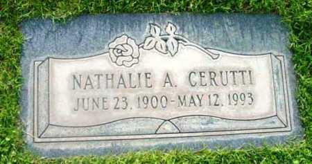 CERUTTI, NATHALIE A. - Yavapai County, Arizona | NATHALIE A. CERUTTI - Arizona Gravestone Photos