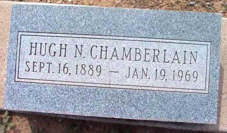 CHAMBERLAIN, HUGH N. - Yavapai County, Arizona   HUGH N. CHAMBERLAIN - Arizona Gravestone Photos