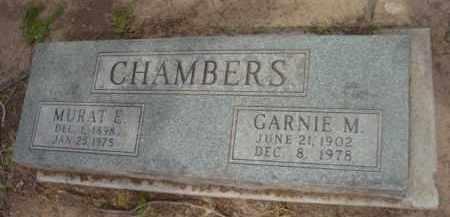 CHAMBERS, MURAT ELMER - Yavapai County, Arizona | MURAT ELMER CHAMBERS - Arizona Gravestone Photos