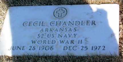 CHANDLER, CECIL - Yavapai County, Arizona | CECIL CHANDLER - Arizona Gravestone Photos