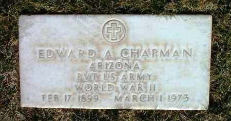 CHAPMAN, EDWARD ALFRED - Yavapai County, Arizona | EDWARD ALFRED CHAPMAN - Arizona Gravestone Photos