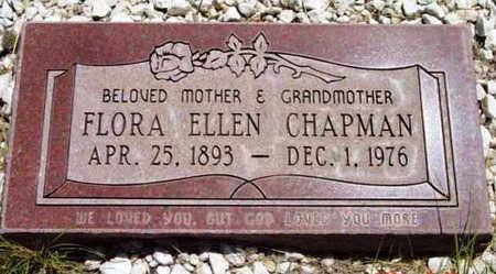 CHAPMAN, FLORA ELLEN - Yavapai County, Arizona | FLORA ELLEN CHAPMAN - Arizona Gravestone Photos
