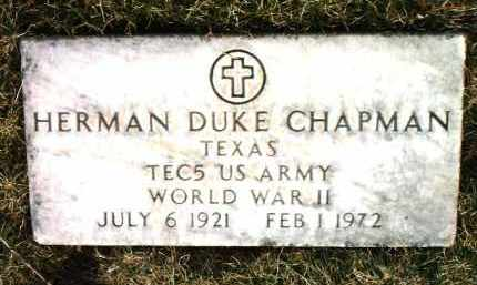 CHAPMAN, HERMAN DUKE - Yavapai County, Arizona | HERMAN DUKE CHAPMAN - Arizona Gravestone Photos