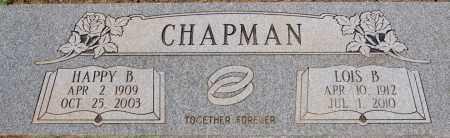CHAPMAN, HAPPY BENJAMIN - Yavapai County, Arizona | HAPPY BENJAMIN CHAPMAN - Arizona Gravestone Photos