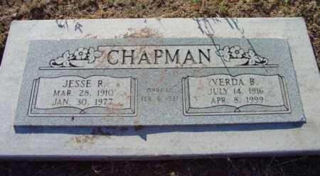 CHAPMAN, JESSE REED - Yavapai County, Arizona | JESSE REED CHAPMAN - Arizona Gravestone Photos