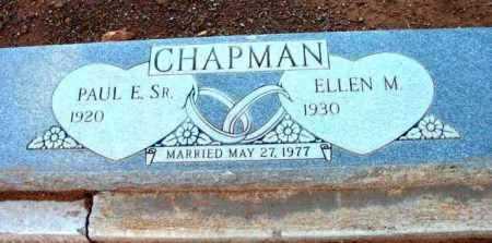 CHAPMAN, ELLEN M. - Yavapai County, Arizona | ELLEN M. CHAPMAN - Arizona Gravestone Photos