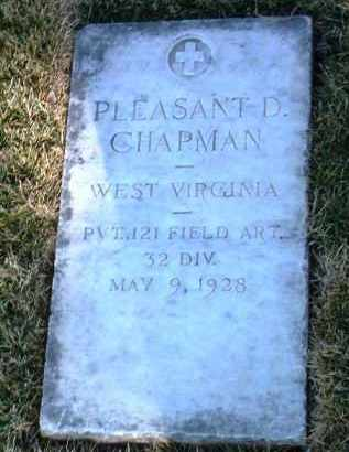 CHAPMAN, PLEASANT D. - Yavapai County, Arizona   PLEASANT D. CHAPMAN - Arizona Gravestone Photos