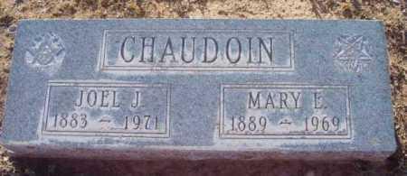 ADAMS CHAUDOIN, MARY E. - Yavapai County, Arizona | MARY E. ADAMS CHAUDOIN - Arizona Gravestone Photos