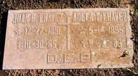 CHAVEZ, JUAN OLIVAS - Yavapai County, Arizona   JUAN OLIVAS CHAVEZ - Arizona Gravestone Photos