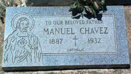 CHAVEZ, MANUEL - Yavapai County, Arizona   MANUEL CHAVEZ - Arizona Gravestone Photos