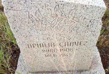 CHAVEZ, OPHILIA - Yavapai County, Arizona   OPHILIA CHAVEZ - Arizona Gravestone Photos