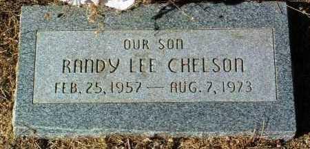 CHELSON, RANDY LEE - Yavapai County, Arizona | RANDY LEE CHELSON - Arizona Gravestone Photos