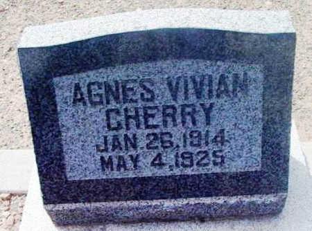 CHERRY, AGNES VIVIAN - Yavapai County, Arizona | AGNES VIVIAN CHERRY - Arizona Gravestone Photos