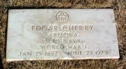 CHERRY, EDGAR - Yavapai County, Arizona | EDGAR CHERRY - Arizona Gravestone Photos