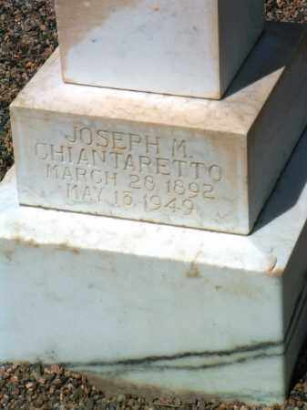 CHIANTARETTO, JOSEPH M. - Yavapai County, Arizona   JOSEPH M. CHIANTARETTO - Arizona Gravestone Photos