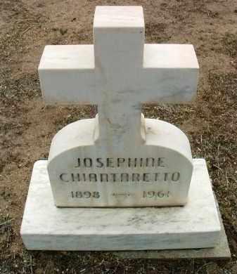 CHIANTARETTO, JOSEPHINE - Yavapai County, Arizona | JOSEPHINE CHIANTARETTO - Arizona Gravestone Photos