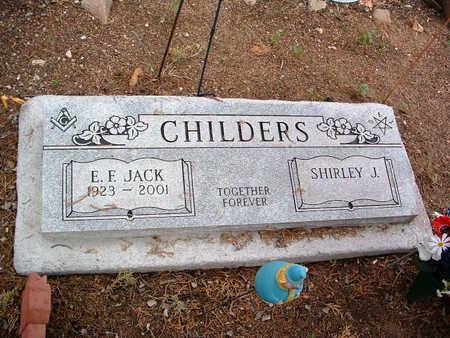 CHILDERS, SHIRLEY J. - Yavapai County, Arizona | SHIRLEY J. CHILDERS - Arizona Gravestone Photos