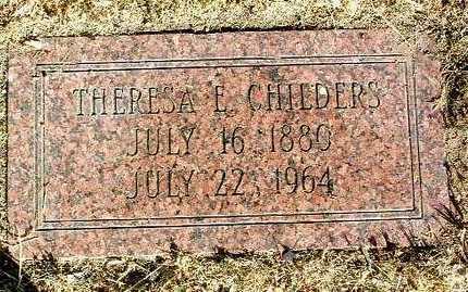 CHILDERS, THERESA E. - Yavapai County, Arizona   THERESA E. CHILDERS - Arizona Gravestone Photos