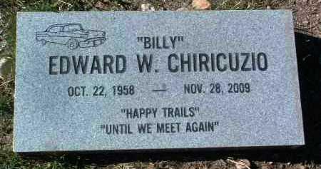 CHIRICUZIO, EDWARD W. - Yavapai County, Arizona | EDWARD W. CHIRICUZIO - Arizona Gravestone Photos