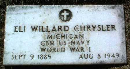 CHRYSLER, ELI WILLARD - Yavapai County, Arizona | ELI WILLARD CHRYSLER - Arizona Gravestone Photos