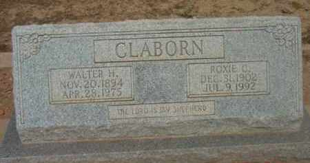 FOLLIS CLABORN, ROXIE CLEO - Yavapai County, Arizona | ROXIE CLEO FOLLIS CLABORN - Arizona Gravestone Photos