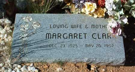 CLARK, MARGARET A. - Yavapai County, Arizona   MARGARET A. CLARK - Arizona Gravestone Photos