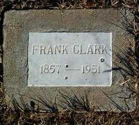 CLARK, FRANK - Yavapai County, Arizona | FRANK CLARK - Arizona Gravestone Photos