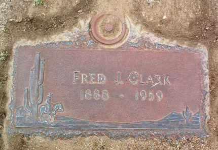 CLARK, FRED J. - Yavapai County, Arizona   FRED J. CLARK - Arizona Gravestone Photos
