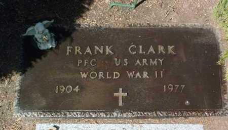 CLARK, FRANK - Yavapai County, Arizona   FRANK CLARK - Arizona Gravestone Photos