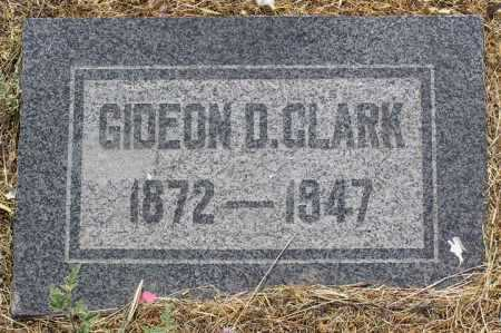 CLARK, GIDEON D. - Yavapai County, Arizona | GIDEON D. CLARK - Arizona Gravestone Photos