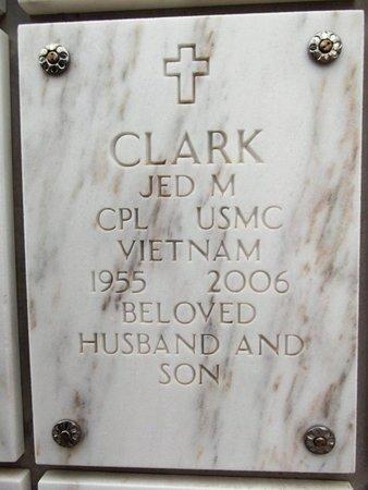 CLARK, JED MARSHALL - Yavapai County, Arizona | JED MARSHALL CLARK - Arizona Gravestone Photos
