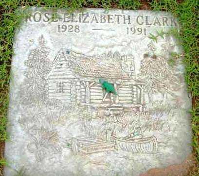 CLARK, ROSE ELIZABETH - Yavapai County, Arizona | ROSE ELIZABETH CLARK - Arizona Gravestone Photos