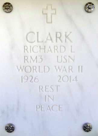 CLARK, RICHARD LOUIS - Yavapai County, Arizona   RICHARD LOUIS CLARK - Arizona Gravestone Photos