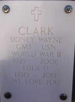 CLARK, SIDNEY WAYNE - Yavapai County, Arizona | SIDNEY WAYNE CLARK - Arizona Gravestone Photos