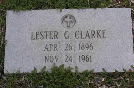 CLARKE, LESTER GEORGE - Yavapai County, Arizona | LESTER GEORGE CLARKE - Arizona Gravestone Photos