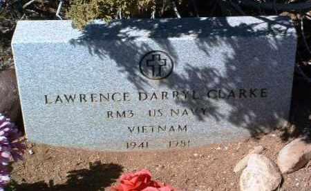 CLARKE, LAWRENCE DARRYL - Yavapai County, Arizona | LAWRENCE DARRYL CLARKE - Arizona Gravestone Photos
