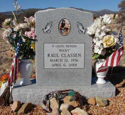 CLASSEN, RAUL (ROCKY) - Yavapai County, Arizona | RAUL (ROCKY) CLASSEN - Arizona Gravestone Photos