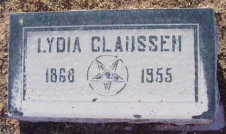 CLAUSSEN, LYDIA - Yavapai County, Arizona   LYDIA CLAUSSEN - Arizona Gravestone Photos