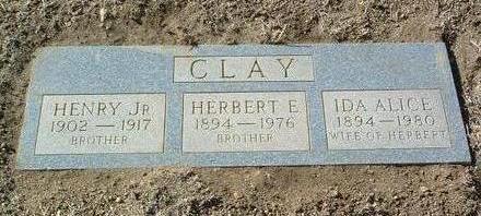 AVEY CLAY, IDA ALICE - Yavapai County, Arizona | IDA ALICE AVEY CLAY - Arizona Gravestone Photos