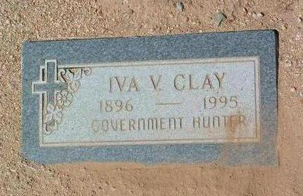 BEASLEY CLAY, IVA VIRGINIA - Yavapai County, Arizona | IVA VIRGINIA BEASLEY CLAY - Arizona Gravestone Photos