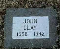 CLAY, JOHN - Yavapai County, Arizona   JOHN CLAY - Arizona Gravestone Photos