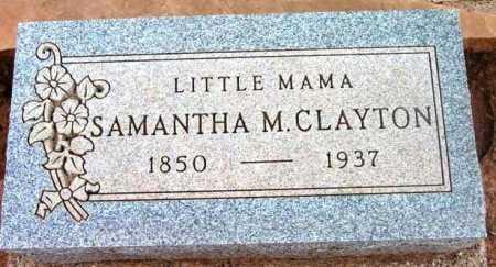 WALKER CLAYTON, SAMANTHA MADORA - Yavapai County, Arizona | SAMANTHA MADORA WALKER CLAYTON - Arizona Gravestone Photos